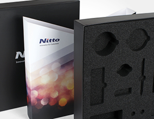 Nitto - Luxedoos met Insert in Mousse + Sleeve
